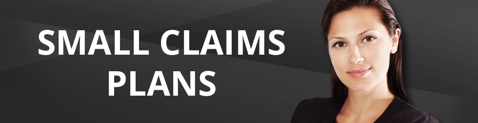 Legal resource - SMALL CLAIMS PLANS